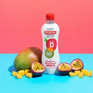 Vitamin D Drink Mango & Passionfruit 12x500ml by Get More Vits
