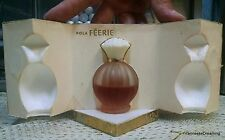 VINTAGE Ultra Rare Pola Feerie Parfum Ginza Gold Presentation Clamshell .68 Oz