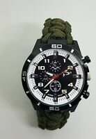 Paracord Watch with British Army Colours a Great Gift