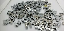 70+ Charm Lot 10mm Slide Rhinestone Letters, 8mm Letters and more