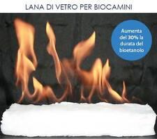 FIBRA CERAMICA IDROFILA CAMINO A BIOETANOLO BIOCAMINO 30X10X2,5CM Lana di Vetro