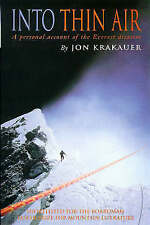 Into Thin Air: Personal Account of the Everest Disaster by Jon Krakauer, Book