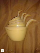 Vintage Melamine Nesting Ducks Geese Stackable Measuring Cups