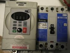 Automation Direct GS2 2HP AC drive, cutler-Hammer circuit breaker hfd 65k15 amps