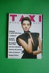Magazine Taxi Moda n.4 1986 Diego Armando Maradona Marcello Murzilli The Charro