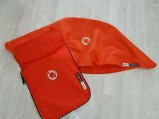 Bugaboo cameleon 3 ORANGE fabric set hood & Apron