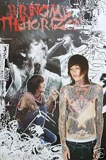 """BRING ME THE HORIZON """"4 SHOTS OF OLIVER SYKES"""" ASIAN POSTER - Metalcore Music"""