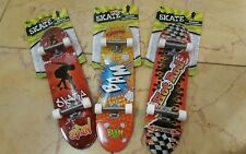 Lot of (3) Hand board 10 inch hand skateboard tech 27cm large finger board toy