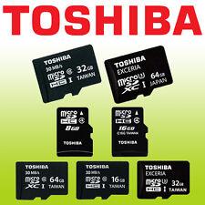 Toshiba 16GB 32GB 64GB 128GB micro SD Card SDHC Class 10 Mobile Memory MicroSDXC