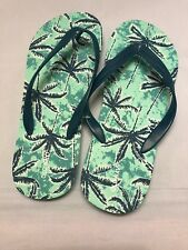 Old Navy Men Shoes Flip Flops Sandals Tree Print
