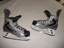 BAUER VAPOR XII ICE HOCKEY SKATES ADULT SIZE 4 SKATE 5 SHOE DECENT SHAPE HIGHEND