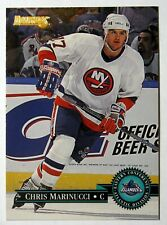 1995-96 Donruss Islanders Hockey Card #6 Chris Marinucci Rookie - Free Shipping