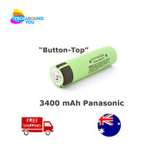 Panasonic NCR18650B 3400mAh Lithium Li-Ion Button Top Rechargeable batteries