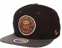 Zephyr NCAA Oklahoma State Cowboys Snapback, Adjustable New Free Shipping Hat