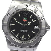 TAG HEUER 2000 series professional WK1110 Quartz Men's wrist watch_428435