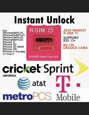 US R-SIM15+ RSIM15 Nano Unlock RSIM Card for iPhone 6/7/8/X/11/Pro iOS13/12/11