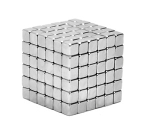 100pcs Neodymium Square 5mm Magnets Rare Earth Disc Super Strong Magnets N50