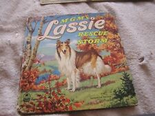 MGM's LASSIE  Rescue in the Storm  A Cozy Corner Book 1951