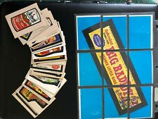 Wacky Packages Near Complete Series 5 (31/32) Sticker Set + 9/9 Puzzle