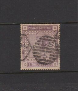"""GB -1884 QUEEN VICTORIA """" 2.SHILs & 6PENCE"""" (2/6d) Lilac - USED Cat £160(SG178)"""