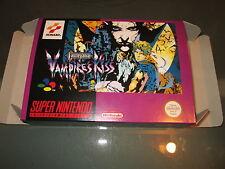 Castlevania Vampire's Kiss - PAL  - Super nintendo - Snes - Only Box