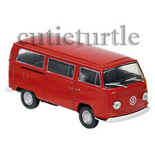 Welly 1972 Volkswagen Bus T2 1:60 Diecast Toy Car 58270D Red