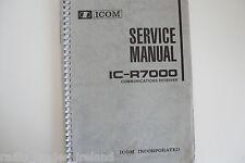 Icom-R7000 (AUTHENTIQUE Service Manuel Uniquement)... radio _ Trader _ Irlande.