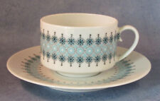 ARABIA OF FINLAND, Louhi, Vintage, Coffee cup & Saucer, Excellent Condition