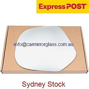 LEFT PASSENGER SIDE MIRROR GLASS FOR TOYOTA HIACE SBV 1995-2003