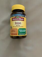 Nature Made 65mg Iron Supplement - 365 Tablets