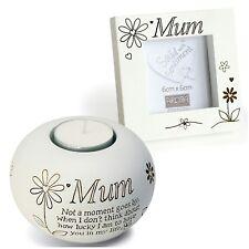 Mum Small Tealight & Photo Frame Gift Set Birthday, Mother's Day, Christmas Idea