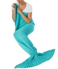 NEW! Celebrate Shop Mermaid Tail Blanket   Color:  Teal