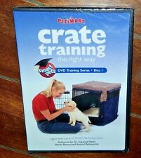 Crate Training the Right Way by Dr. Suzanne Hetts (DVD, 2002) Free Shipping!