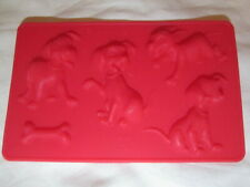 101 DALMATIANS Silicone Mould LOLLY Baking Chocolate Cake Case Decoration Sweet
