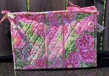 Vera Bradley Large Bow Cosmetic Petal Pink NWT 7.5 X 10.5