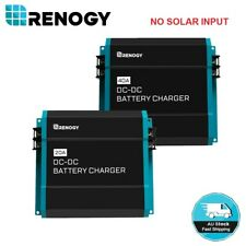 Renogy 12V DC to DC Dual Battery Charger RV Caravan 20A 40A 60A Aux Maintainer