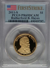 PCGS First Strike 2011 Proof RUTHERFORD B HAYES 19th Presidential Dollar PR69*PF