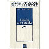 FRANCIS LEFEBVRE - Sociétés commerciales - 2004 - Broché