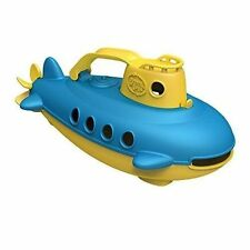 Genuine Green Toys Plastic Submarine for Ages 6 Months Kids - Yellow