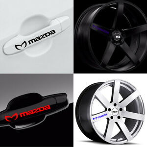 Evil M Mazda Decal For Door Wheel Vinyl Sticker Graphic Emblem Mazda 3 5 6 CX-9