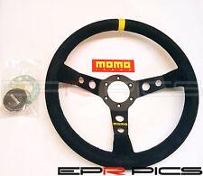 Momo Mod 07 Series Suede Deep Dish Steering Wheel 350mm - Genuine Item