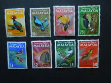 G1739    MALAYSIA  1965  BIRDS  SG  20-27  MNH