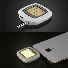 nEW Portable 16 LED Selfie Flash Fill Flash Light for Samsung iPhone Smartphone