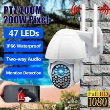 HD 1080P IP CCTV Camera Outdoor Waterproof WiFi PTZ Security Wireless IR Cam NVR