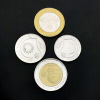 Moldova Set 4 Coins,1 2 5 10 Lei , 2018, UNC