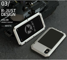 Waterproof Shockproof Aluminum Gorilla Glass Metal Cover Case For Apple iPhone