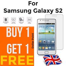 100% genuine Tempered Glass screen protector For Samsung Galaxy S2