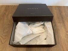 Gucci Shoe Box w/ Tissue Paper - Brown - 13� x 12� x 4.25�