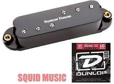 Seymour Duncan Duckbucker SDBR-1n Neck Pickup For Strat Black ( 1 STRING SET )