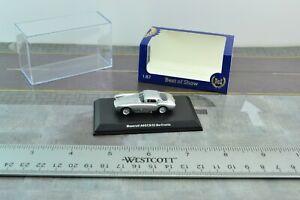 BOS Models 87036 Maserati A6GCS Berlinetta Silver Car 1:87 Scale HO